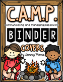 CAMP Binder Covers (Black and White and Color Ink Friendly