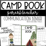 CAMP Communication Binder - EDITABLE