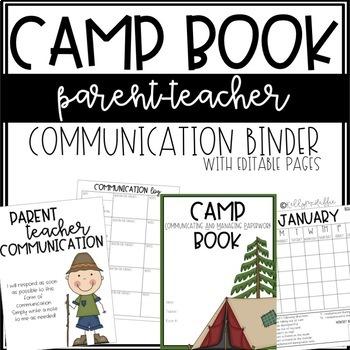 CAMP Communication Binder - EDITABLE