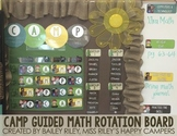 CAMP Guided Math Rotation Board {with EDITABLE headers}