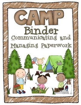 CAMP Organizational Binder