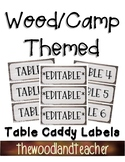 CAMP Theme Table Caddy Labels