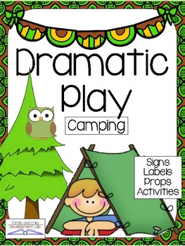 CAMPING Dramatic Play Center