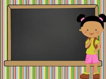 CAMPING - PowerPoint, Open House, Curriculum Night, Meet the Teacher