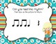 CAMPING Rhythms! Interactive Rhythm Practice Game - Ta Rest