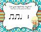 CAMPING Rhythms! Interactive Rhythm Practice Game - Ta Rest