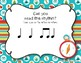 CAMPING Rhythms! Interactive Rhythm Practice Game - Ta and Ti-ti