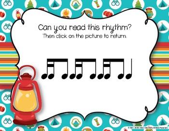 CAMPING Rhythms! Interactive Rhythm Practice Game - Tika-ti