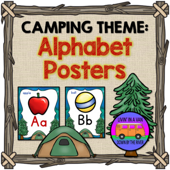 CAMPING THEME: Alphabet Posters