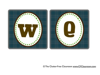 CAMPING THEME BANNERS WELCOME and CUSTOM-classroom theme {printables)