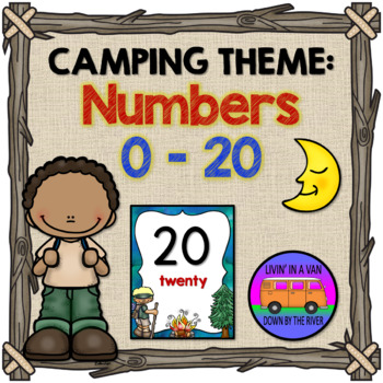 CAMPING THEME: Numbers 0-20
