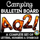 CAMPING THEMED CLASSROOM DECOR (CAMPING BULLETIN BOARD LET