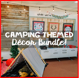 CAMPING THEMED DECOR BUNDLE! (Over 15 downloadable products!)