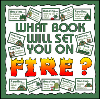 CAMPING THEMED REASONS TO READ POSTERS ND ACTIVITIES - READING RESOURCES DISPLAY