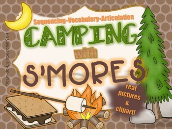 CAMPING with S'MORES!!