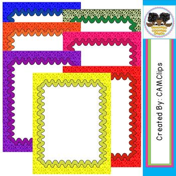 CAM_Dots of Fun Frames