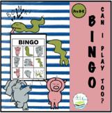 CAN I PLAY TOO?  FREE BINGO