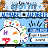 Can You Spot It? LETTERS OF THE ALPHABET Game | Dobble El Abecedario Spanish