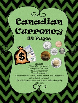 "CANADA CANADA CANADA ""Completely Canadian Currency"""