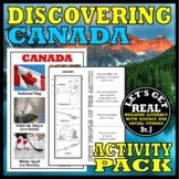 CANADA: Discovering Canada Activity Pack