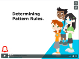 CANADA Math 4: Algebra: Determining Pattern Rules Concept Capsule