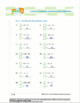 CANADA Math 4: Algebra: L5: Addition and Subtraction Equations Worksheet