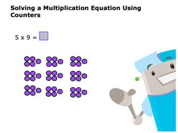 CANADA Math 4: Algebra: Problem Solving Using ( x and ÷) Concept Capsule