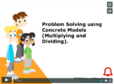 CANADA Math 4: Algebra: Problem Solving Using ( x and ÷) C