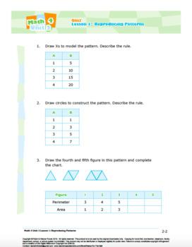 CANADA Math 4: Algebra: Quiz Bundle