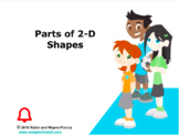 CANADA Math 4: Geometry: Parts of 2-D Shapes Concept Capsule