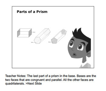 CANADA Math 4: Geometry: Shape and Space: L6: Identifying Prisms