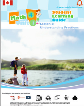 CANADA Math 4: Number Concepts: L5: Understanding Fractions