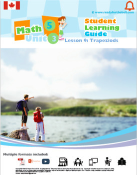 CANADA Math 5: GEOMETRY Complete Unit Bundle