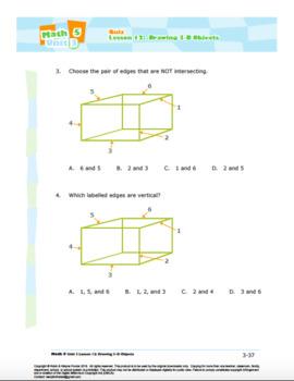 CANADA Math 5: Geometry: L12: Drawing 3-D Objects Quiz
