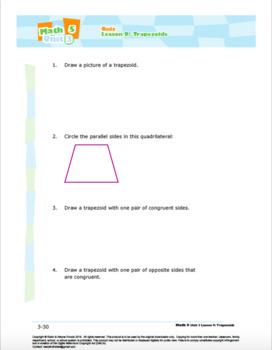 CANADA Math 5: Geometry: Quiz Bundle