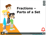 CANADA Math 5: Number Concepts: Fractions - Parts of a Set Concept Capsule