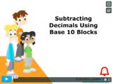 CANADA Math 5: Number Concepts: Subtracting Decimals Concept Capsule