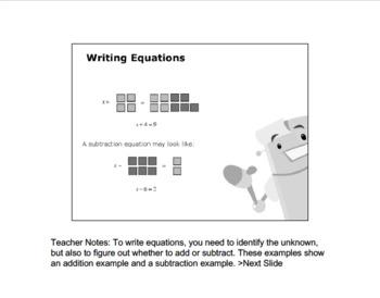 CANADA Math 6: ALGEBRA Complete Unit Bundle