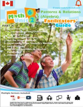 CANADA Math 6: FULL YEAR BUNDLE (Numbers, Algebra, Geometry, Statistics)