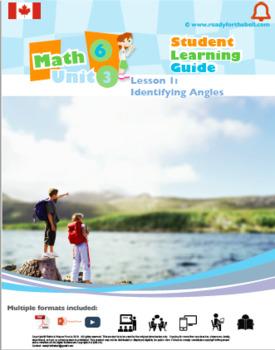 CANADA Math 6: GEOMETRY Complete Unit Bundle