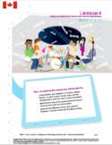 CANADA Math 7: FRACTIONS AND PERCENTS Complete Unit Bundle