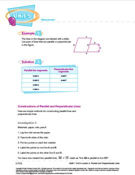 CANADA Math 7: MEASUREMENT Complete Unit Bundle
