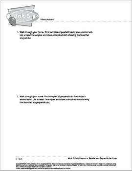 CANADA Math 7: Measurement: L4: Perpendicular