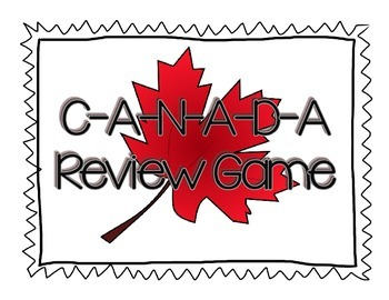 CANADA Review Game