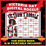 CANADA - VICTORIA DAY BOGGLE (Digital and Printable) - FUN