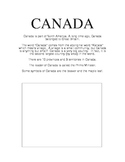 CANADA report pages