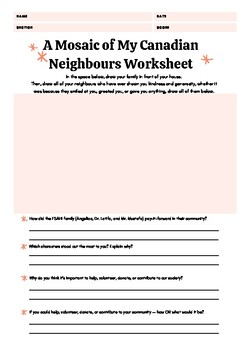 CANADIAN CHARTER OF RIGHTS AND FREEDOMS WORKSHEET AND BOOK ...