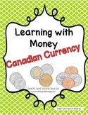 CANADIAN Coin Classroom Visuals and Math Games