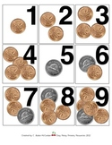 CANADIAN Coin Counting Daily Review Calendar Cards