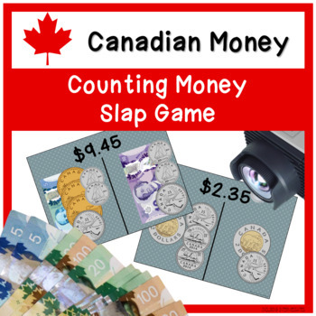 CANADIAN MONEY - Counting Money Slap Game